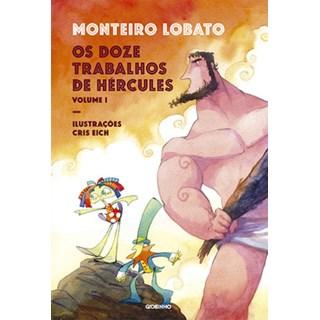Livro - Os doze trabalhos de Hércules: volume 1 - Lobato - Globinho