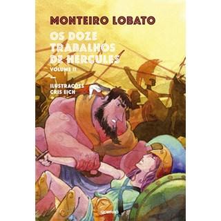 Livro - Os doze trabalhos de Hércules: volume 2 - Lobato - Globinho