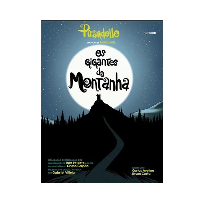 Livro - Os Gigantes Da Montanha - Pirandello