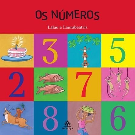 Livro - Os Números : Lalau e LauraBeatriz -