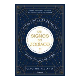 Livro - Os Signos do Zodíaco - Faulkner 1º edição