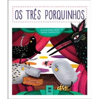 Livro - Os Três Porquinhos - Golik - Panda Books