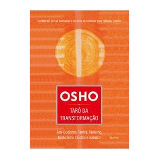 Livro - Osho Tarô da Transformação - . 1º edição
