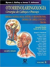 Livro Otorrinolaringologia Cirurgia de Cabeca e Pescoco Cirurgia