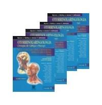 Livro Otorrinolaringologia Cirurgia de Cabeca e Pescoco Colecao
