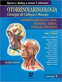 Livro Otorrinolaringologia Cirurgia de Cabeca e Pescoco Otorrino