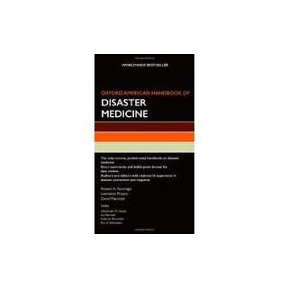 Livro - Oxford American Handbook of Disaster Medicine (Oxford American Handbooks in Medicine)