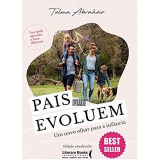 Livro Pais Que Evoluem - Abrahão - Literare Books - Pré-Venda