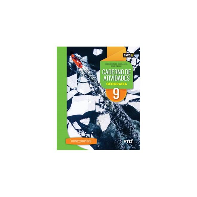 Livro - Panoramas Geografia - 9 Ano - Caderno de Atividades - FTD