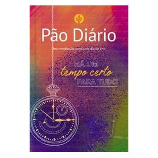 Livro - Pão Diário - Tempo certo - Ministérios Pão Diário 1º edição