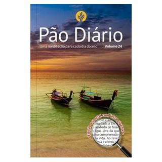 Livro - Pão Diário vo.l 24 - Letra Gigante - Paisagem - Ministérios Pão Diário 1º edição