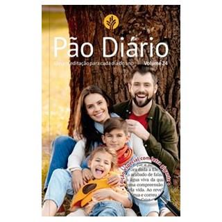 Livro - Pão Diário vol. 24 - Letra Gigante - Família - Ministérios Pão Diário 1º edição