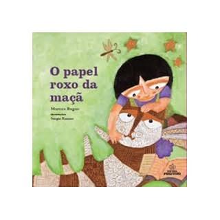 Livro - Papel Roxo da Maça, O - Bagno - Positivo