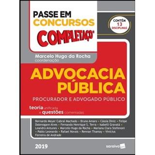 Livro - Passe Em Concursos - Completaço® - Advocacia Pública - Procurador e Advogado Público