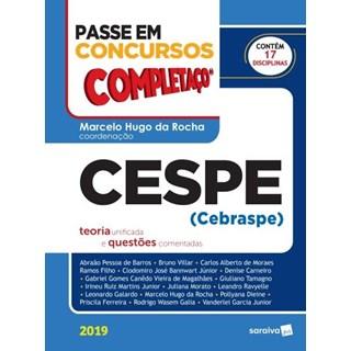Livro - Passe Em Concursos - Completaço - Cespe - Teoria Unificada e Questões Comentadas