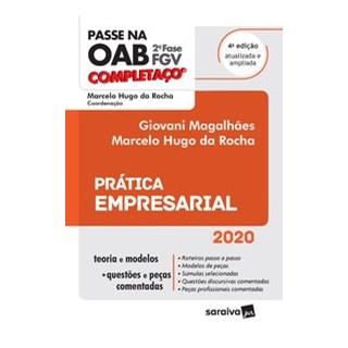 Livro - Passe na OAB - 2ª Fase - FGV - Completaço - Prática empresarial - Magalhães 4º edição