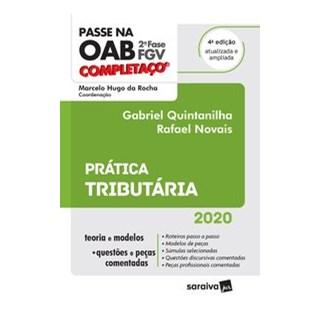 Livro - Passe na OAB 2ª Fase - FGV - Completaço - Prática Tributária - 4ª Ed. 2020 - Novais 4º ediçã