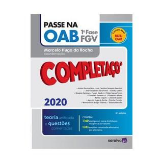 Livro - Passe na OAB - Completaço® - 1ª fase FGV - Teoria Unificada - Oliveira 6º edição