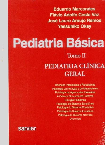 Livro - Pediatria Básica vol 2 - Pediatria Geral - Marcondes
