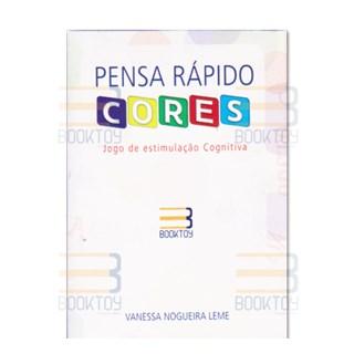 Livro Pensa Rápido Cores - Leme - Booktoy