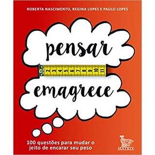 Livro - Pensar Emagrece - Lopes - Barallho