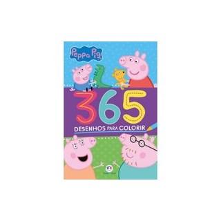 Livro - Peppa Pig - 365 Desenhos para colorir - Blanca Alves Barbieri 1º edição