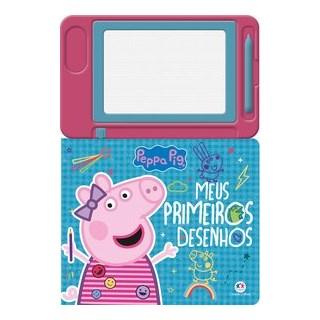 Livro - Peppa Pig - Meus primeiros desenhos - Ciranda Cultural 1º edição
