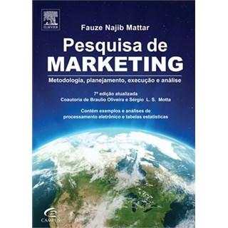 Livro - Pesquisa de Marketing - Mattar