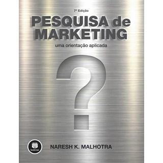 Livro - Pesquisa de Marketing - Uma Orientação Aplicada - Malhotra