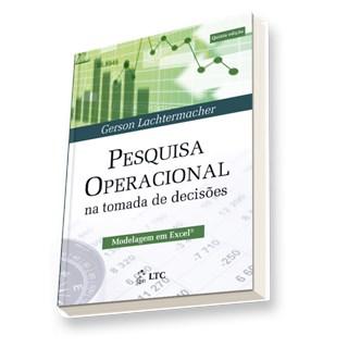 Livro - Pesquisa Operacional na Tomada de Decisões - Lachtermacher