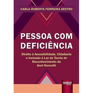 Livro - Pessoa Com Deficiência - Destro - Juruá