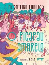 Livro PicaPau Amarelo Monteiro Lobato FTD