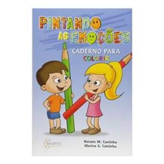 Livro - Pintando as Emoções: Caderno para Colorir - Gusmão