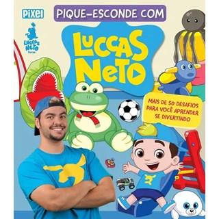 Livro - Pique Esconde Com Luccas Neto