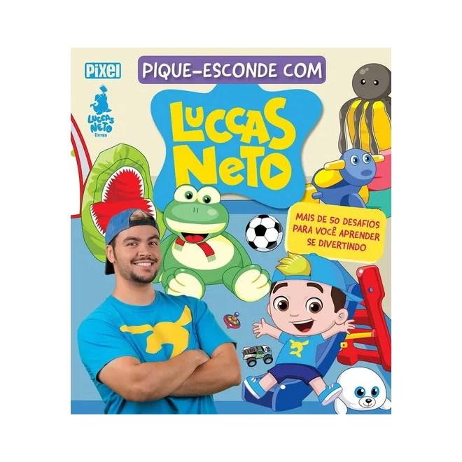 Livro Pique Esconde Com Luccas Neto Livraria Florence