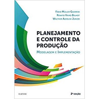 Livro - Planejamento e Controle da Produção - Guerrini