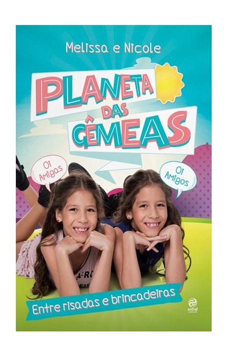 Livro - Planeta das gêmeas – Entre risadas e brincadeiras