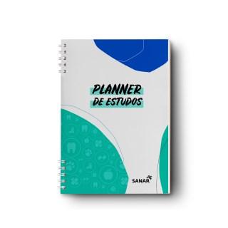 Livro Planner de Estudos para Concursos e Residências - Sanar
