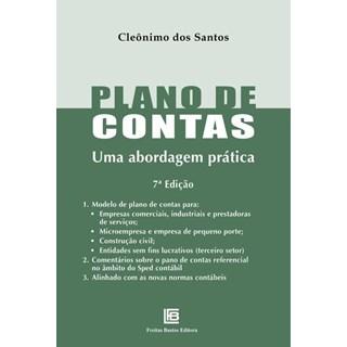 Livro - Plano de Contas - Uma Abordagem Prática - Santos