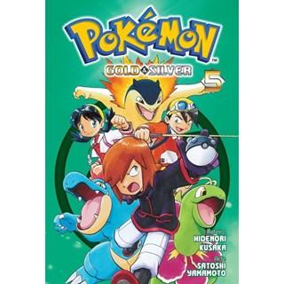 Livro - Pokémon Gold & Silver Vol. 5 - Mato