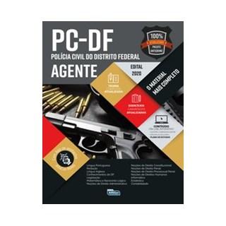 Livro - Polícia Civil Do Distrito Federal - PC DF - Edital 2020 - Equipe Alfacon 2º edição