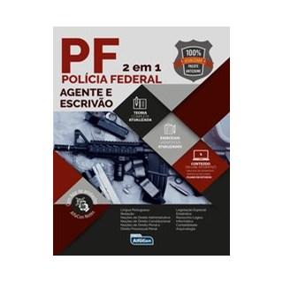 Livro - Polícia Federal - Agente e Escrivão - 2020 - Equipe Alfacon 2º edição