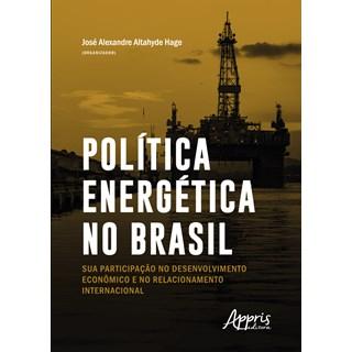Livro - Política Energética no Brasil - Hage