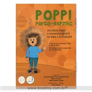 Livro - Poppi Porco-Espinho - Histórias Para o Desenvolvimento de Rima e Aliteração - César