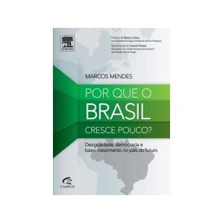 Livro - Por que o Brasil Cresce Pouco - Mendes