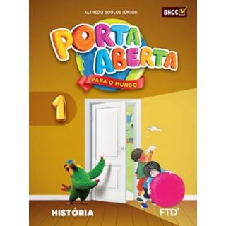 Livro - Porta Aberta para o Mundo - História - 1 Ano - FTD