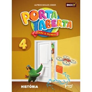 Livro - Porta Aberta para o Mundo História - 4 Ano - FTD