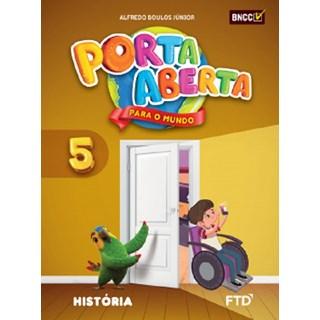 Livro - Porta Aberta para o Mundo História - 5 Ano - FTD