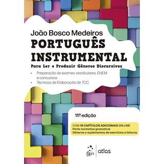 Livro - Português Instrumental: Contém Técnicas de Elaboração de Trabalho de Conclusão de Curso (TCC) - Medeiros