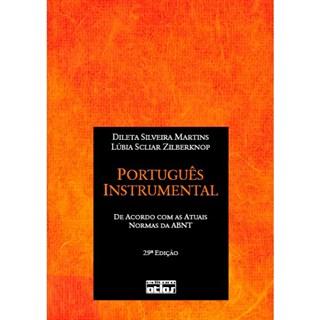 Livro - Português Instrumental: De Acordo com as Normas Atuais da ABNT - Martins